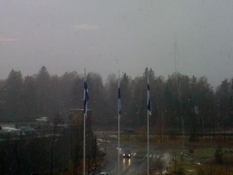 Stuck inside of Espoo with them Nokia blues again