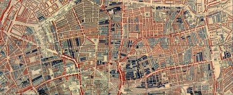 Charles Booth's maps of London poverty