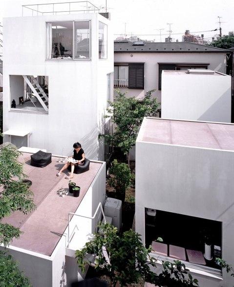 Edmund Sumner's lovely picture of Ryue Nishizawa's Moriyama House